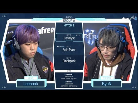 [2018 GSL Season 2] Code S Ro.32 Group A Match2 Leenock vs ByuN