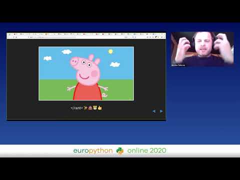 Nicholas Tollervey - How to Run a Corridor Track in a Remote Conference with Python