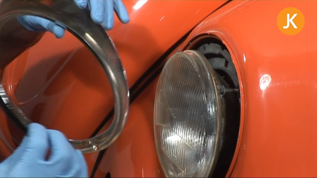Changing a Headlamp Bulb on a VW Beetle - How-To Videos :: Just Kampers