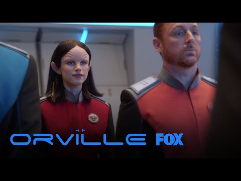 Alara Reassures Shes Fit To Be The Chief Of Security | Season 1 Ep. 1 | THE ORVILLE