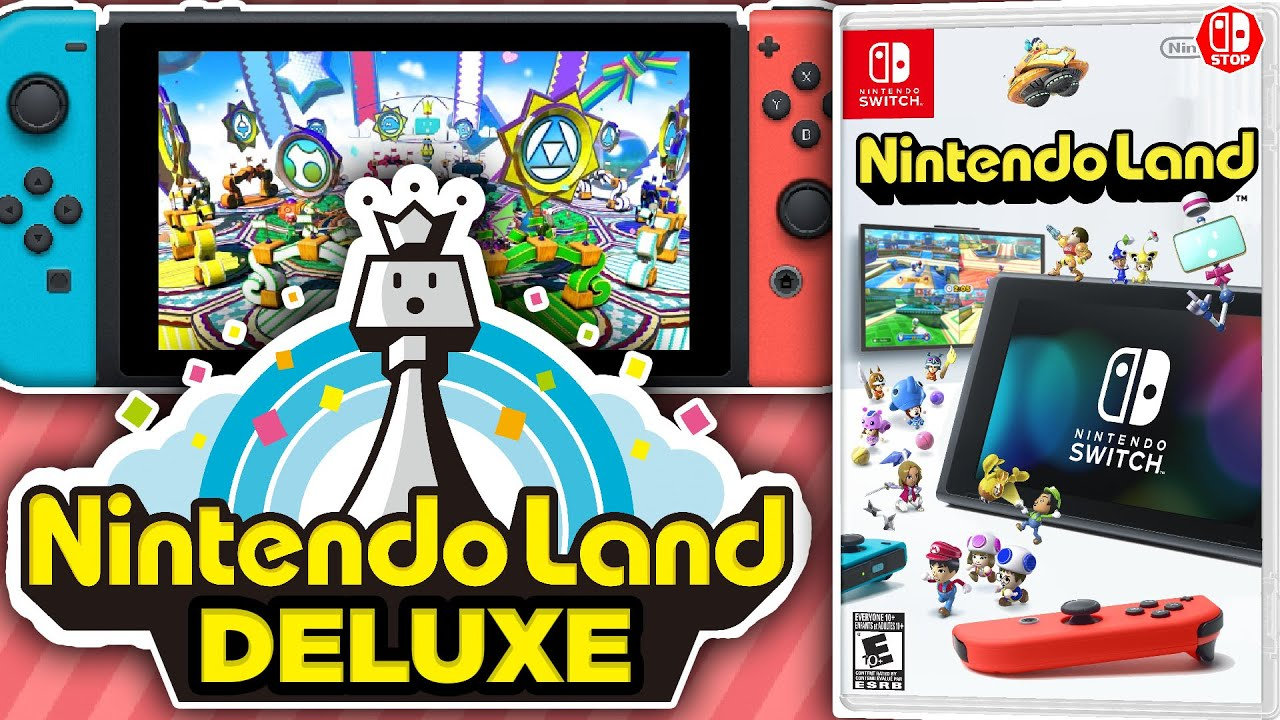 How Nintendo Land Could POTENTIALLY Work On The Nintendo Switch!