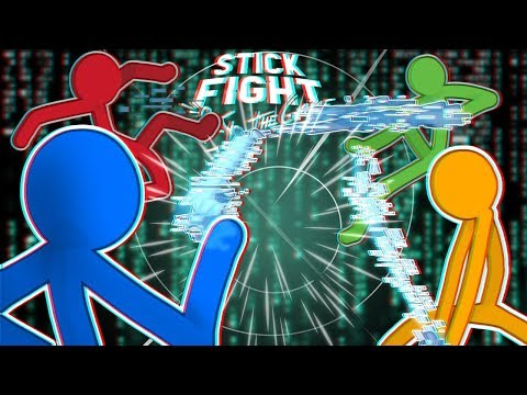 I Found INVISIBLE GUNS In Stick Fight