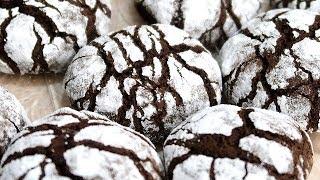 Пряники шоколадные с трещинками  Невероятно нежный сказочный вкус