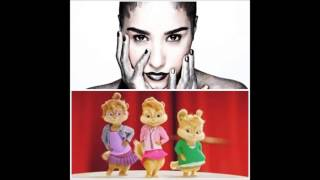 demi lovato really don t care feat cher lloyd alvin and the chipmunks version
