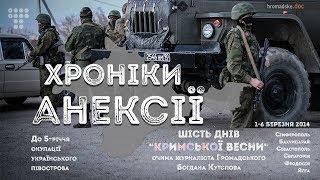 Хроніки анексії (2019). Фільм Богдана Кутєпова | Hromadske.doc