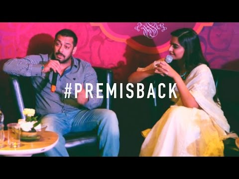 Salman Khan Talks About How Every Family Must Watch Prem Ratan Dhan Paayo