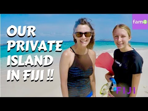Living in a Bure on a Private Island in Fiji (Ep. 43) - Family Travel Channel