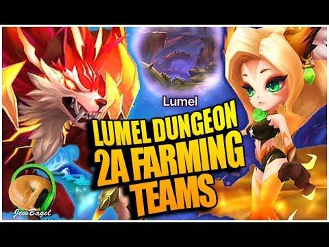 LUMEL DIMENSION Farming Teams For 2a Werewolves & Martial Cats (Summoners War)
