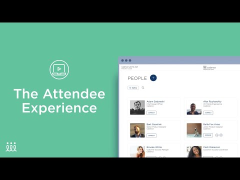 The Attendee Experience in Cadence