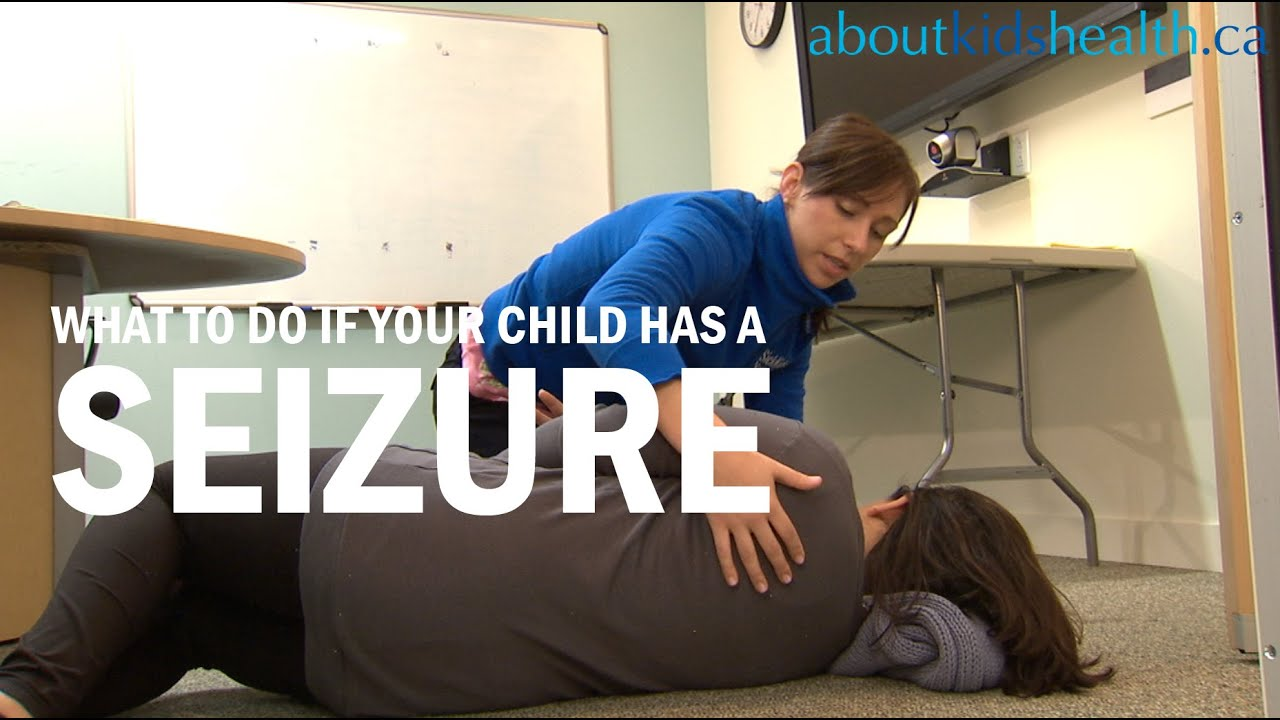 how to know if child has a seizure