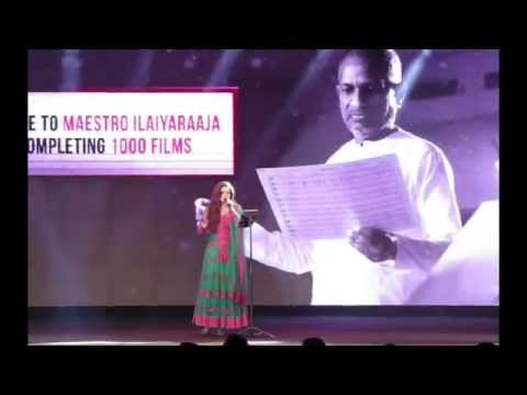 shreya Performing At Ilaiyaraaja's film Crossing celebrations