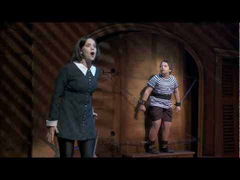 THE ADDAMS FAMILY  Pulled Starring Cortney Wolfson as Wednesday Addams