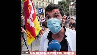 Le 18:18 - De Marseille à Avignon, vaccinés ou non, ils sont contre l'obligation