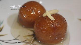 Bread Gulab Jamun Recipe | Instant Gulab Jamun Recipe | Indian Sweets Gulab Jamuns