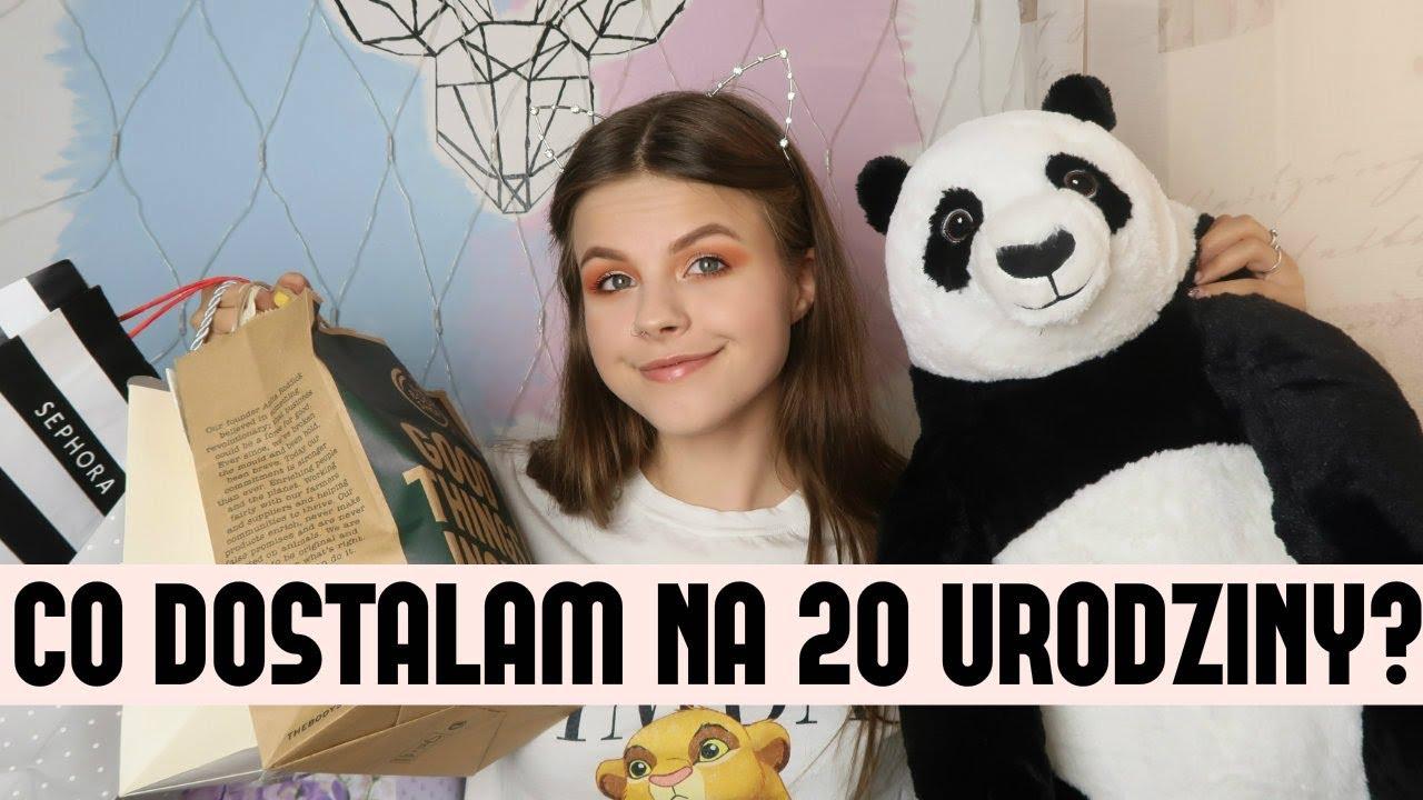 Co Dostalam Na 20 Urodziny Pomysly Na Prezenty Youtube