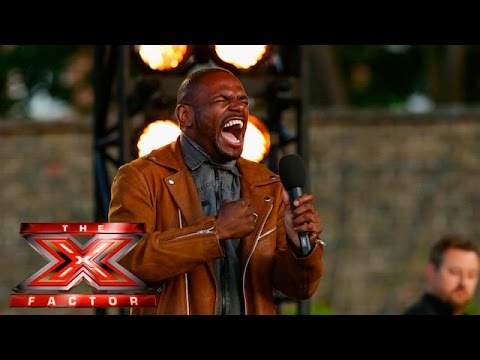 Anton Stephans makes Olly shed a tear   Boot Camp   The X Factor UK 2015