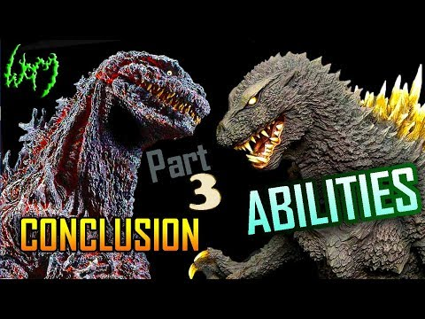 GODZILLA Explained PART 3 of 3 Abilities, Strengths, Weaknesses, Power Level!