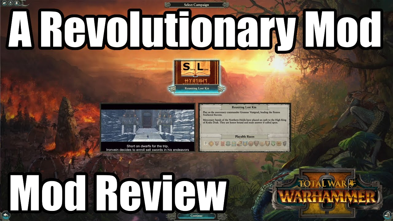 A Revolutionary Mod That Completely Transforms Warhammer 2 Into a New Game! - Total War Warhammer 2
