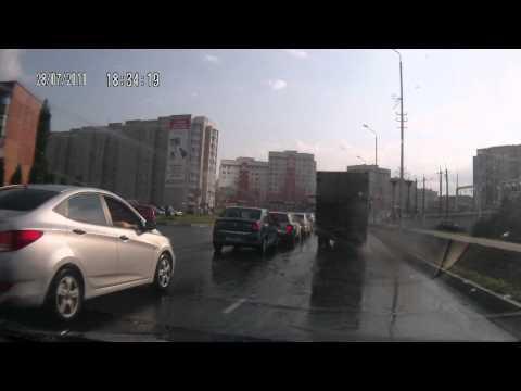 ДТП в Губкине улица Севастопольская 28.07.2011 г.