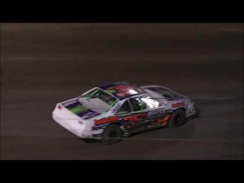 Salina Speedway Coors Light IMCA Stock cars (Heats & Feature) 7-21-17