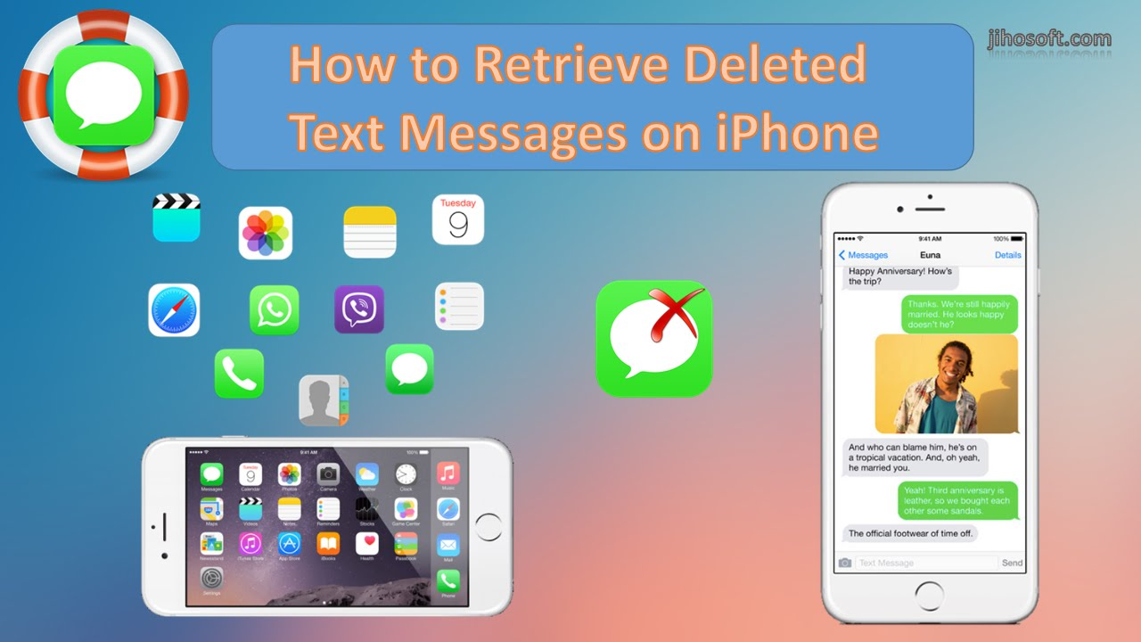 How to Retrieve Deleted Text Messages on iPhone 7/6s/6/5s