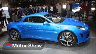 New Alpine A110 - Geneva Motor Show 2017