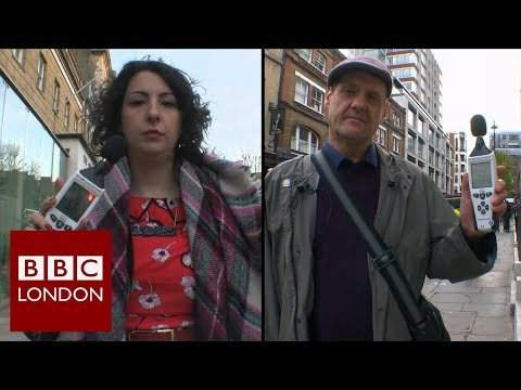 How loud is London? – BBC London News