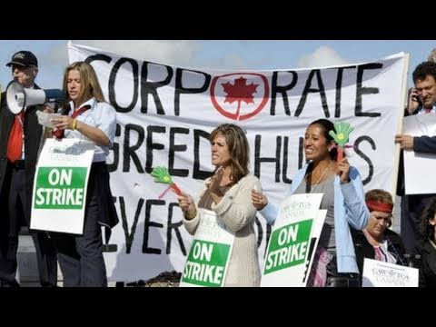Canadian Workers Face Majority Conservative Gov.