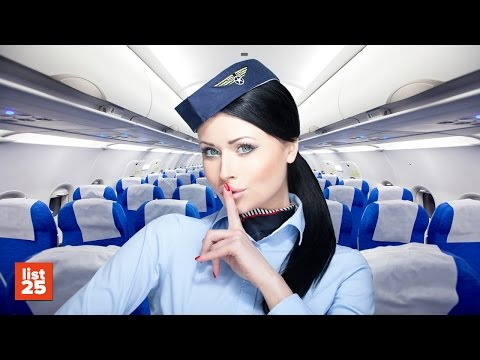 Thumbnail: 25 SECRETS Flight Attendants Know That You Don't
