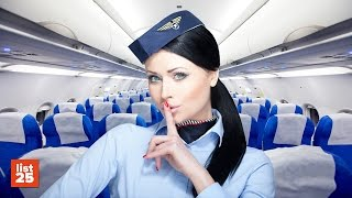 25 Secrets Flight Attendants Know That You Don't