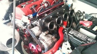 HONDA S2000 F20C Kαi : K-Tech tuned engine with TODA ITB ( NA 294HP 29.2kg/m :  Rebirth and Dyno )