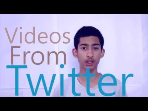 How To Download Videos From Twitter! 2017 100% working!!