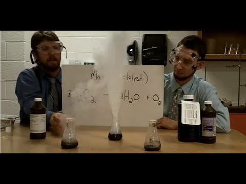Genie In A Bottle- Concentrations H2O2 And MnO2