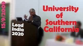 Dr. A.P. J. Abdul Kalam at Dr. A.P.J. Abdul Kalam at University of Southern California, Sep 15 2009