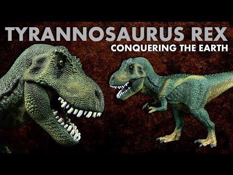 Schleich ® Tyrannosaurus Rex - Review - Conquering The Earth - 2017 Neuheit