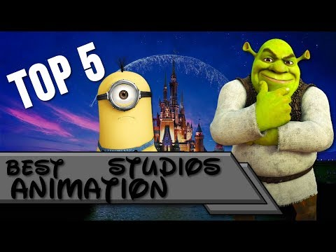 Top 5 | Best Animation Studios 💰💵