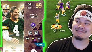 ULTIMATE LEGEND BRETT FAVRE Is A MAGICIAN With The Ball