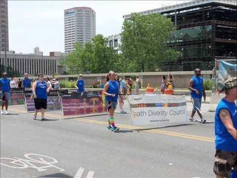 Columbus Ohio PRIDE Parade Part 1 of 2 - YouTube