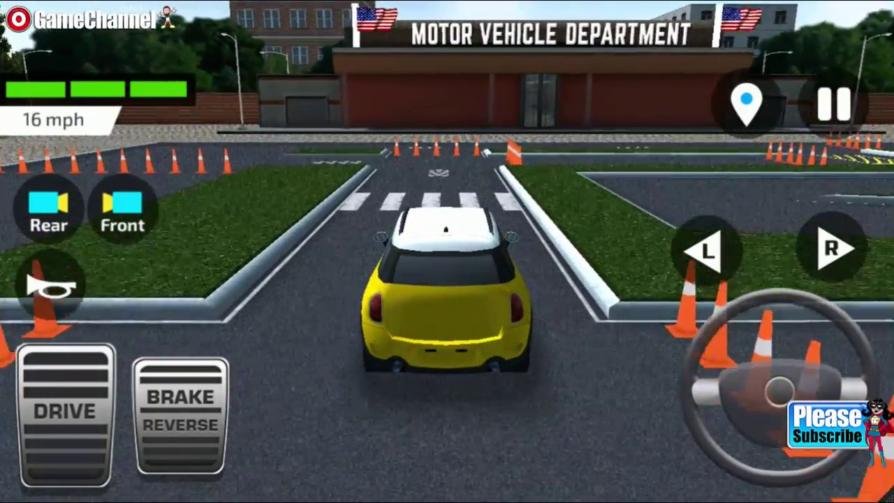 Car Racing Parking And Driving Games