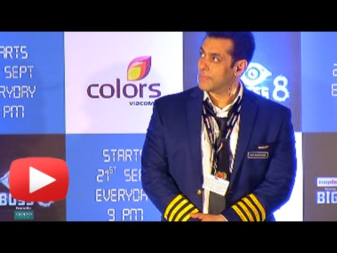 (VIDEO) Salman Khan Stands In Silence During Azaan | Bigg Boss 8 Launch