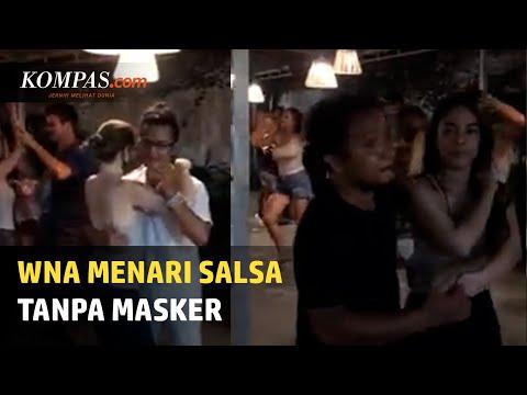 Viral, Video Sejumlah WNA di Bali Menari Salsa Abaikan Protokol Kesehatan