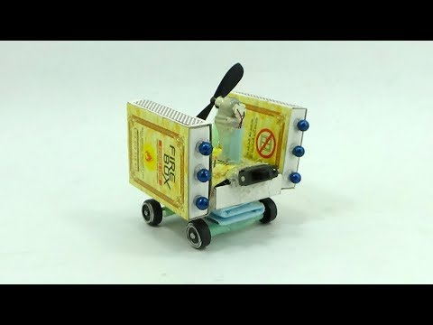 How to Make Easy Matchbox Toy Trucks | DIY Matchbox Toy Tutorial | Powerful Car With Matchbox