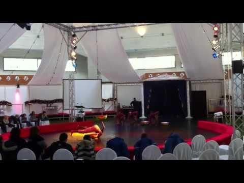 Ghana Flying stars Acrobatics show in Switzerland. by Circus Starslight