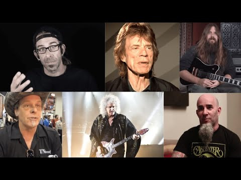 Reactions to Joe Biden's President Elect from Randy Blythe/Brian May/Mick Jagger/Ted Nugent