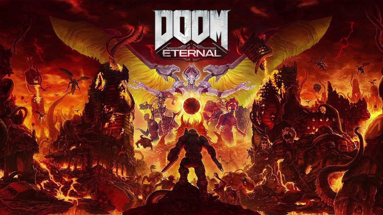 Doom Eternal The Icon Of Sin Soundtrack Youtube
