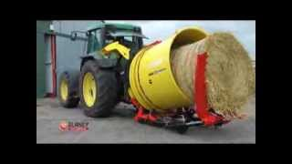 blaney agri self loading bale shredder