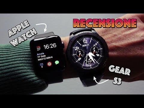 Apple Watch Serie 3 : recensione e confronto con Samsung Gear S3