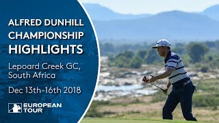 Extended Tournament Highlights |  2018 Alfred Dunhill Championship