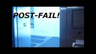 Fail recovery!  ThyssenKrupp hydraulic elevator at Student Center, IWCC, Council Bluffs IA