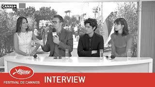 LE REDOUTABLE - Interview - VF - Cannes 2017